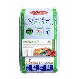 Bardog Hypoalergenní granule Fish rice 24/13 - 12 kg