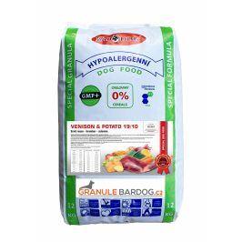 Venison Potato hypoalergenní 19/10 - 12 kg