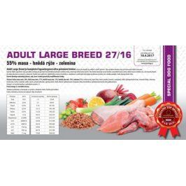 Bardog Hypoalergenní granule Adult Large Breed 27/16 - 1 kg