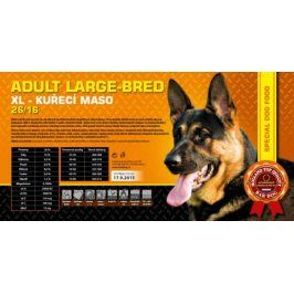 Bardog Adult Large Breed super premium 26/16 - 1 kg