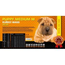 Bardog Super prémiové granule Puppy Medium M 30/20 - 1 kg