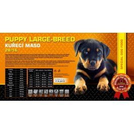 Bardog Super prémiové granule Puppy Large Breed 28/16 - 1 kg