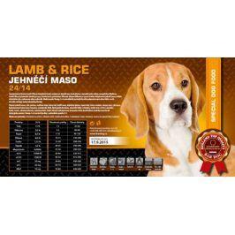 Bardog Super premiové granule Lamb rice 24/14 - 1 kg