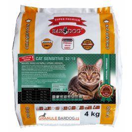 Bardog Super prémiové krmivo pro kočky Cat Sensitive 32/18 - 4 kg