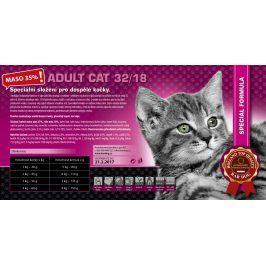 Bardog Super prémiové krmivo pro kočky Cat Adult 32/18 - 1 kg