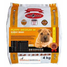 Bardog Super prémiové granule Puppy Medium M 30/20 - 4 kg