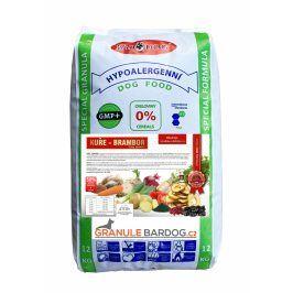 Bardog Granule lisované za studena Kuře a brambor 12 kg