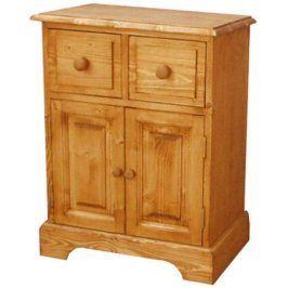 Unis Dřevěný noční stolek 00215