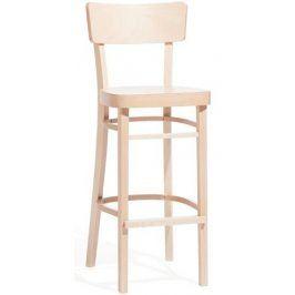 TON Barová dřevěná židle 311 485 Ideal