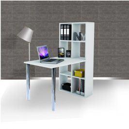 Tempo Kondela PC stůl s regálem BEXINTON