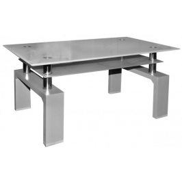 Falco Konferenční stolek A 08-3 šedá/šedé horní sklo