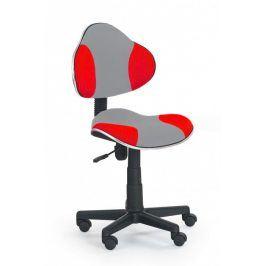 Falco Židle QZY-G2 šedo červená