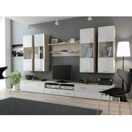 Cama Obývací stěna DREAM I - dub Sono/bílá