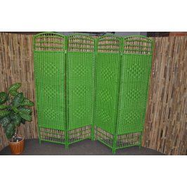 Axin Trading Paravan provázkový barva zelená