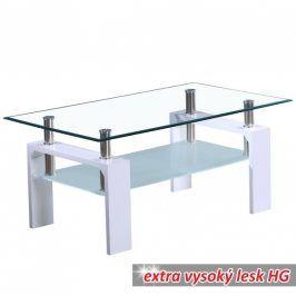 Tempo Kondela Konferenční stolek LIBOR - bílý