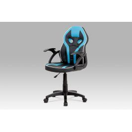 Autronic Dětská kancelářská židle KA-N664 BLUE