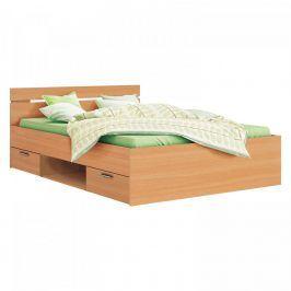Idea Multifunkční postel 140x200 MICHIGAN buk