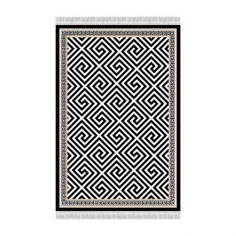 Tempo Kondela Koberec MOTIVE, 160x230 - černo-bílý vzor