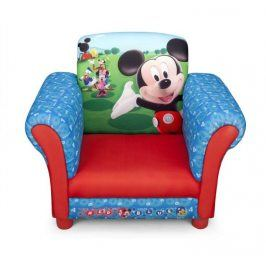 Forclaire Disney dětské čalouněné křesílko Mickey Mouse