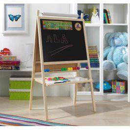 Forclaire Dětská magnetická tabule 4v1