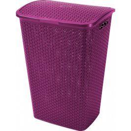 Curver Koš na prádlo MY STYLE 55L - fialový