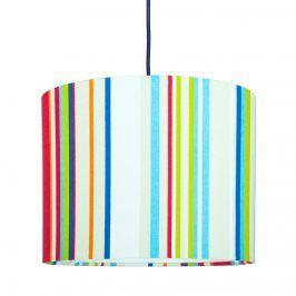 Forclaire Textilní závěsná lampa Stripes Mini