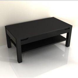Tempo Kondela Konferenční stolek ADONIS AS 96 - černý vysoký lesk