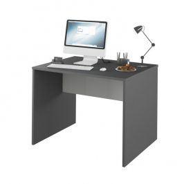 Tempo Kondela PC stůl Rioma TYP 12 - grafit / bílá