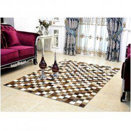 Tempo Kondela Luxusní koberec KOŽA typ3 120x184 - typ patchworku