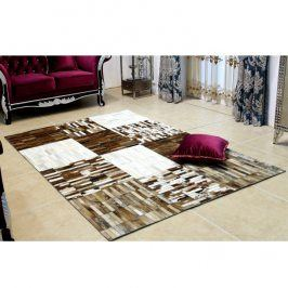 Tempo Kondela Luxusní koberec KOŽA typ4 141x200 - typ patchworku