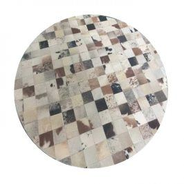 Tempo Kondela Luxusní koberec KOŽA typ10 Ø 200 cm - typ patchworku