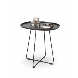 Halmar Odkládací stolek Tina, černý