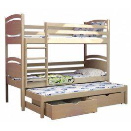 Vomaks Patrová postel s přistýlkou PPV 003 - 1216/MOR2