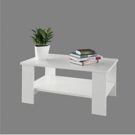 Tempo Kondela Konferenční stolek BERNARDO - bílá