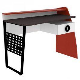 Lubidom Stůl psací Formula - červená, bíla,