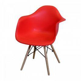 Idea Jídelní židle DUO červená