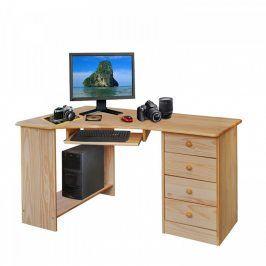 Idea PC stůl rohový 8846 lakovaný