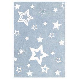 Forclaire Dětský koberec STARLIGHT modrá/bílá 160x230 cm