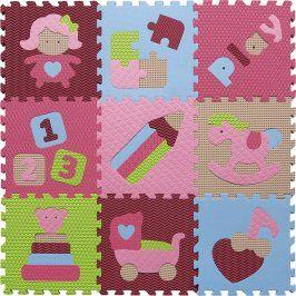 Forclaire Pěnové puzzle - svět hraček