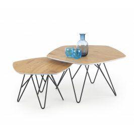 Halmar Konferenční stolek Zero - sada 2 kusů