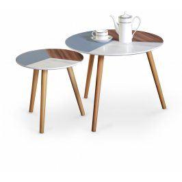 Halmar Odkládací stolek Multi - sada 2 kusů