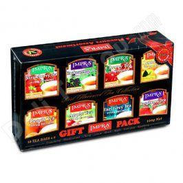 Čaj Impra Black Tea Gift Pack - set černých čajů s aroma ovoce 80ks