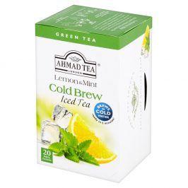 Ahmad Tea (čaj) Zelený ledový čaj Cold Brew Citrón Máta 20ks Ahmad Tea