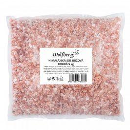 Himalájská sůl růžová hrubá 5Kg Wolfberry