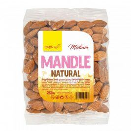 Mandle natural neloupané medium 250g Wolfberry