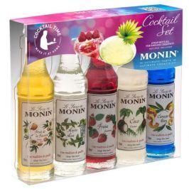 Monin (sirupy, likéry) Monin Cocktail box mini 5 x 50 ml - koktejlový box malý