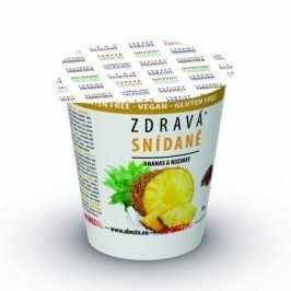 Zdravá snídaně Ananas+rozinky 78g Obezin