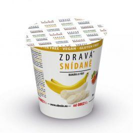 Zdravá snídaně Banán+fíky 78g Obezin