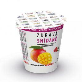Zdravá snídaně Mango+brusinky 78g Obezin
