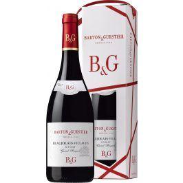 Barton a Guestier (víno) Barton&Guestier Beaujolais-Villages AOC 0,75l Dárkové balení